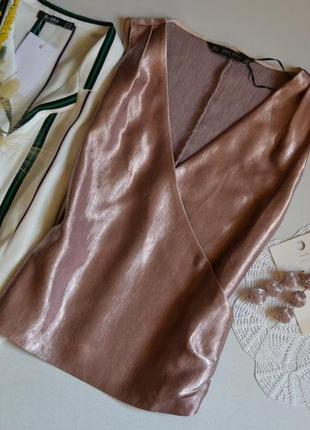 Блуза zara на запах