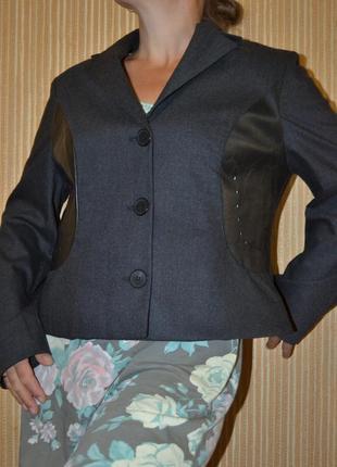 Xxl/44/16  эксклюзивный деловой пиджак, жакет onimo