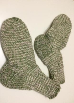Носки вязанные шерстяные hand made
