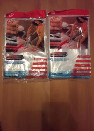 Вакуумные пакеты 50 × 60 см. мешок для вещей1 фото