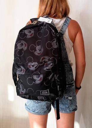 Рюкзак с микки маусом для школы