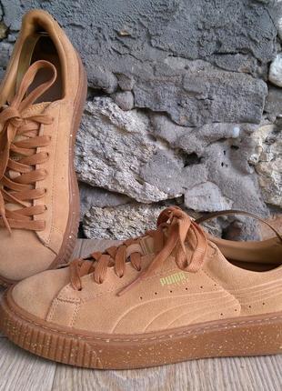 Puma suede кроссовки размер 38 ,оригинал, натуральная замша