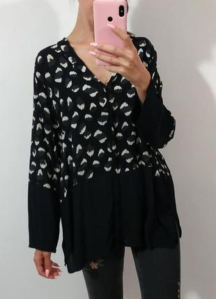 Крутая блуза большой размер