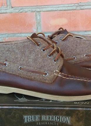 Sperry top-sider ботинки топсайдеры кожаные оригинал (44)