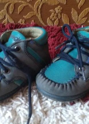 Ботиночки beegle, натуральная кожа