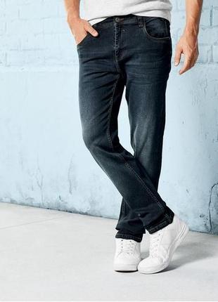 Стильные мужские джинсы livergy slim fit евро 54