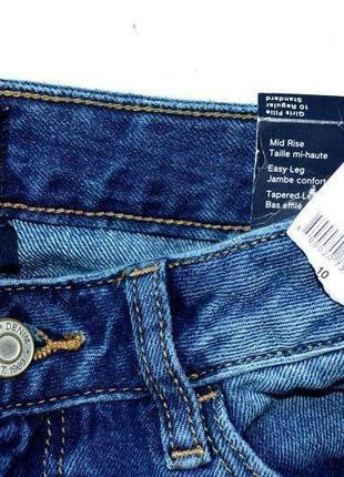 Gap denim. новые классные джинсы с разноцветными сердцами. 10-11 лет,140 см рост4 фото