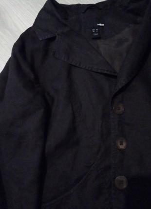 Пиджак лен3 фото