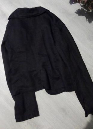 Пиджак лен5 фото