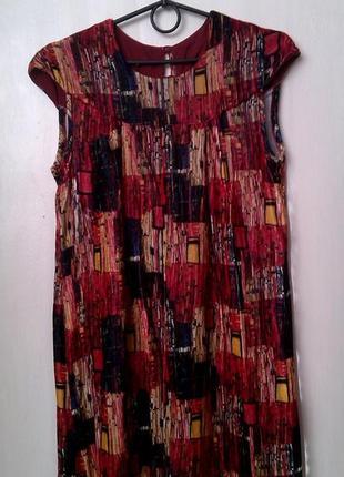 Платье-сарафан, туника шелковый бархат, индивидуальный пошив