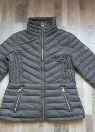 Стильная куртка пух michael kors, размер  размер s-м оригинал