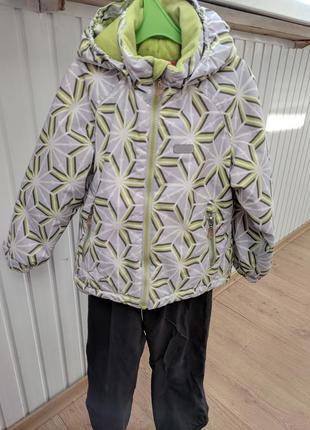 Зимний костюм reima 104, 110. флиска в подарок