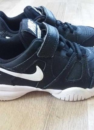 Nike кожаные кроссовки на мальчика арт.3267