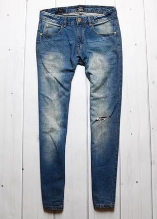 Крутые джинсы с рваной коленкой от ind.
