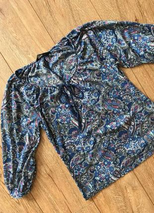 Блуза с турецким орнаментом