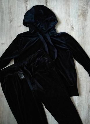 Женский велюровый костюм esmara5 фото
