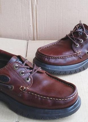 Оригинальные мокасины кожаные трексайдеры ботинки туфли топсайдеры lee