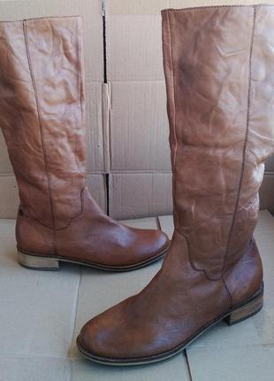 Кожаные удобные стильные новые сапоги spm shoes boots голландия