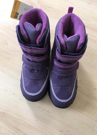 Ботинки на девочку marks&spencer 24 р