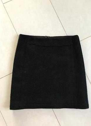 Юбка шерстяная стильная модная marco polo размер м или 38