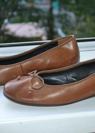 Кожаные туфли от paul green