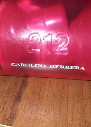 Каролина єррера оригинал carolina herrera 212