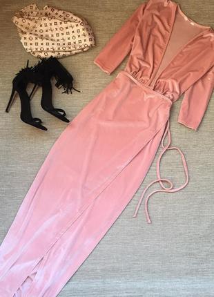 Шикарное платье макси от rokoko