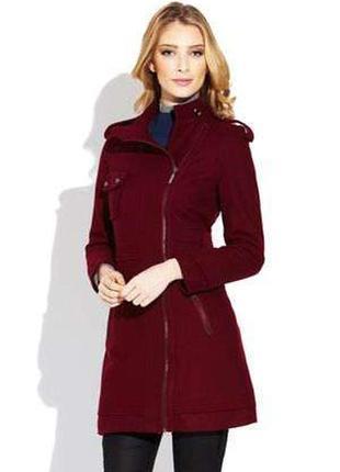 Стильное брендовое пальто vertigo paris черного цвет размер s