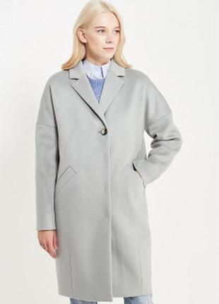 Очень стильное пальто бойфренд с длинным рукавом и кармашками от h&m