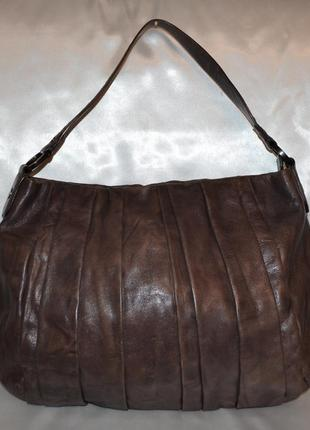 Кожаная сумка donna karan new york