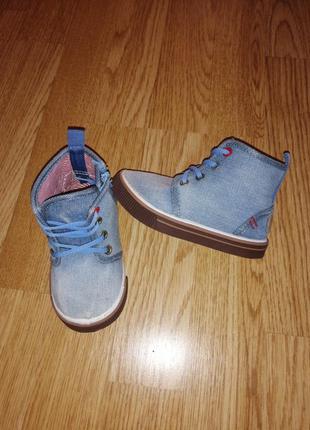 Кеди на мальчика джинсовые ботинки на осень