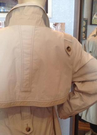 Большой размер, классический плащ - тренч бренда rolada, р. 58-602 фото