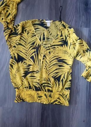 Тропическая блузка