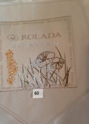 Большой размер, классический плащ - тренч бренда rolada, р. 58-607 фото