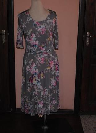 Славное платье  с рукавом  3,4