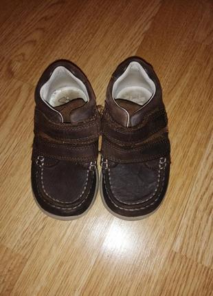 Туфли на мальчика ботинки кожаные