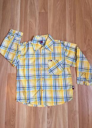 Рубашка в клеточку tommy hilfiger