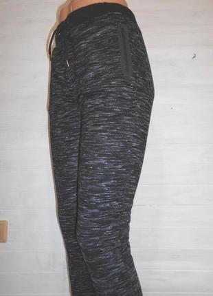 Красивые плотные штаны спортивные s-xs
