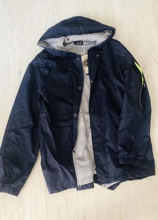 Куртка-парка / дождевик на мальчика