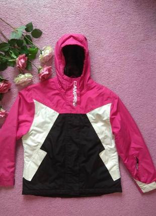 Фирменная куртка демисезонная ветровка теплая 13-14 лет