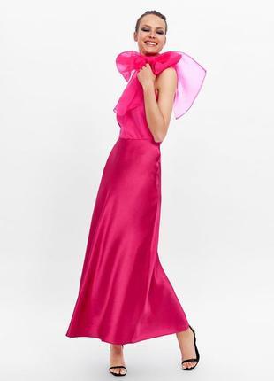 Zara новая коллекция! блуза из органзы6 фото