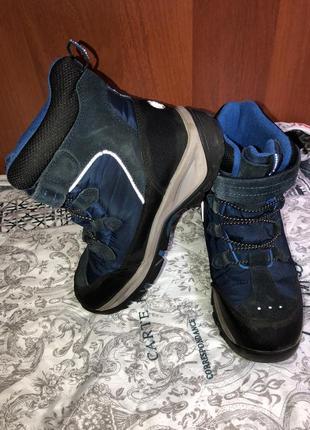 Зимние ботинки reima на мальчика размер 37
