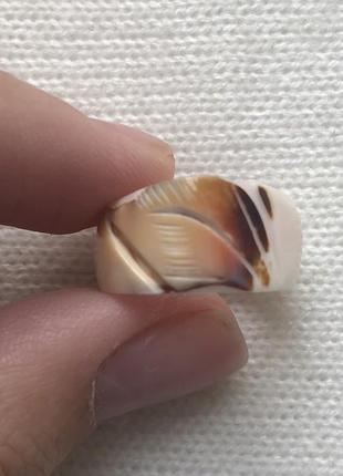 Красивое кольцо ручной работы