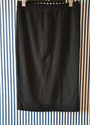 Длинная юбка-карандаш