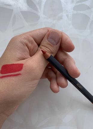 Карандаш для губ от aden оттенок номер 34 russian red к помаде 9 аден италия оригинал