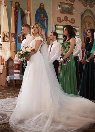 Весільне плаття 2 в 1