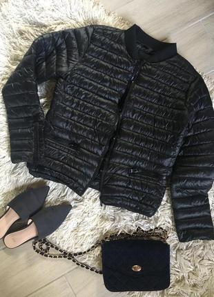 Тонкая курточка на синтепоне, по типу бомбера