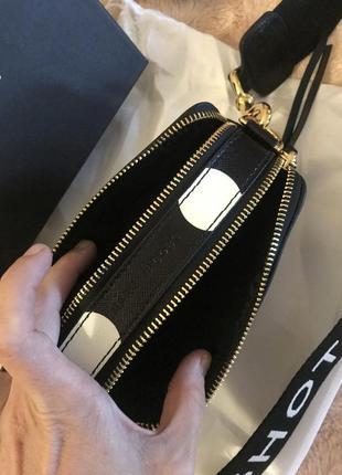 Кожаная сумка сумка кожаная через плечо кроссбоди marc jacobs4 фото