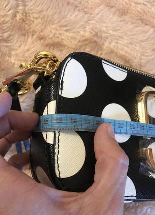 Кожаная сумка сумка кожаная через плечо кроссбоди marc jacobs8 фото