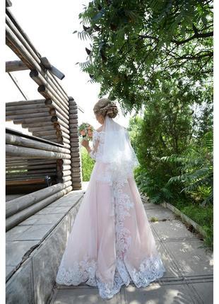 Нежное сведебное платье